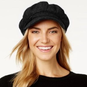 Nine West Women's Boucle Newsboy Cabbie Cap Hat